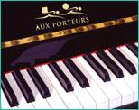 Transport de piano aux porteurs