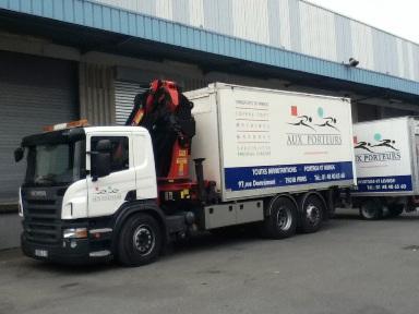 camion de déménagement piano et objet lourd