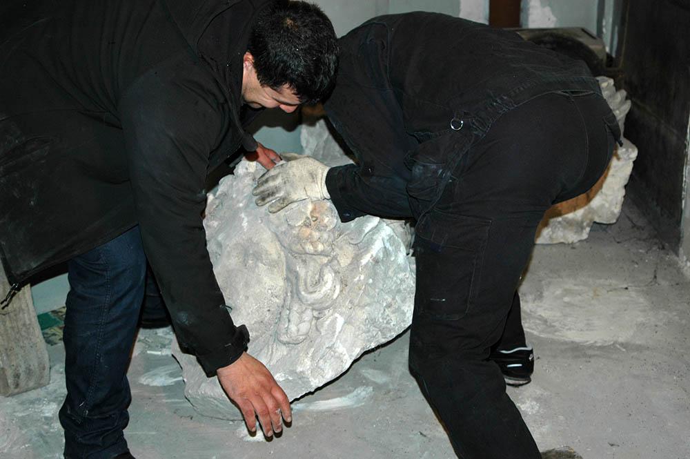 Manutention d'objets lourds