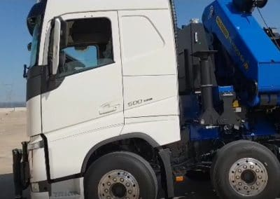 camion grue double essieu