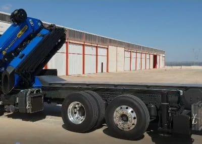 camion plateau charge lourde