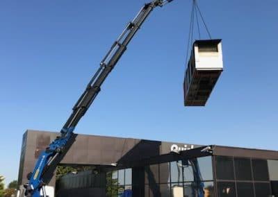 Levage machine de cuisine industrielle